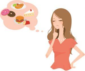摂取カロリーが多いと当然太ります