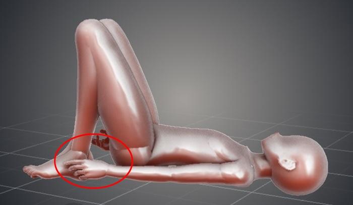 骨盤矯正で歪みを解消!ヒップアップにも効果!①横になってヒザを立てる