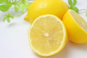 レモンと切断面