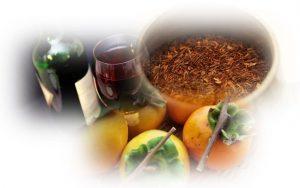渋み・タンニンが含まれるお茶・ワイン・柿