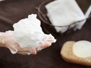 洗顔剤・クレンジング剤の泡