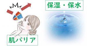 6種のセラミドの働き「肌バリア」「保湿」
